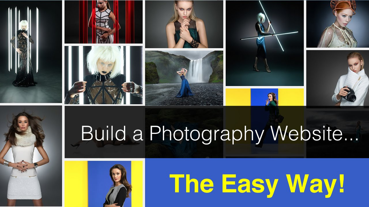 Building a photography website the easy way! - YouTube