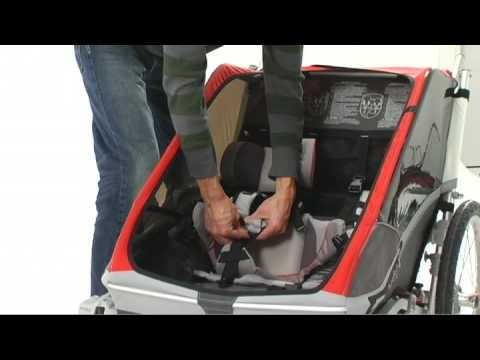 5f4190ab7b8 How to install the Baby Supporter by Chariot Carriers - YouTube