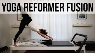 Yoga Pilates Reformer Fusion