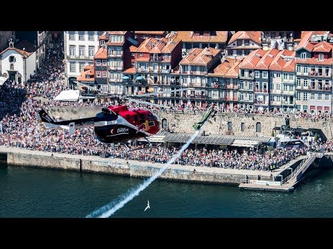 Porto Red Bull Air Race Race Day Action