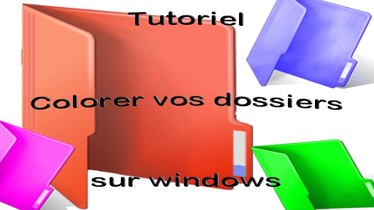 logiciel pour colorer les dossiers