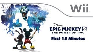 Epic Mickey 2: The Power of Two - First 15 Minutes [Wii]