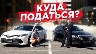 Смотреть видео Батл блогеров / Бизнес 🥊 Комфорт+ / Mercedes & Toyota / Таксую на Camry / Позитивный таксист онлайн