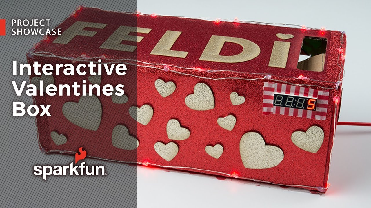 Project Showcase Interactive Valentines Box Youtube