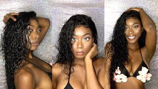 MsLisa Aliexpress | Brazilian Water Wave + HOW TO DEFINE CURLY HAIR 😍