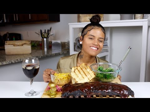 BABY BACK RIBS MUKBANG + DO I HAVE A RELATIONSHIP WITH LOU'S DAUGHTER? (GIVEAWAY WINNER ANNOUNCED)