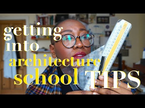 Top Tips for Getting Into Architecture School (UK) 📐 • Margaret Belle