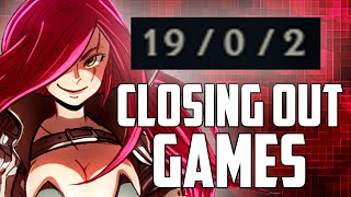 THIS STRATEGY TO WIN GAMES WHEN YOU'RE FED WITH KATARINA IS SURPRISINGLY EFFECTIVE | Katlife