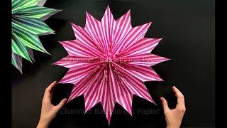 Estrela com Sacos de Pipoca: Como fazer Decoração de Natal baratinha fácil de fazer