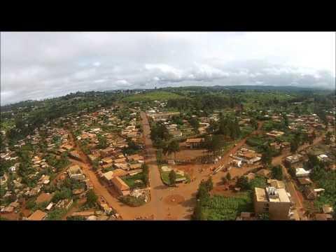 Bangangte Paysage Cameroon DJI Phantom
