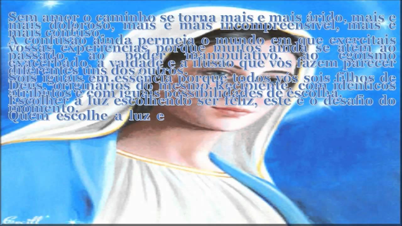 MENSAGEM DE MARIA, MÃE DE JESUS (O CRISTO) Theraio7 Todos