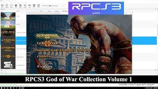 RPCS3 God of War Collection Volume 1