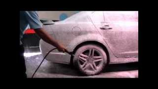 Holden SS Commodore Touchless Foam Wash