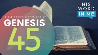HIS WORD IN ME | Genesis 45 | GRACE RIVER