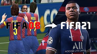 🔥 Every FIFA Trailer From FIFA 2008 - FIFA 21 🔥