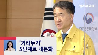 """사회적 거리두기 5단계로 세분화…""""코로나 장기전 대비"""" / JTBC 정치부회의"""