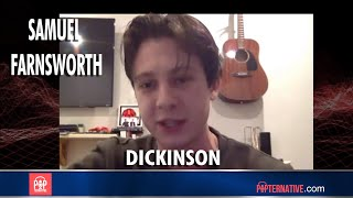 Samuel Farnsworth talks about his show Dickinson on Apple TV and more!