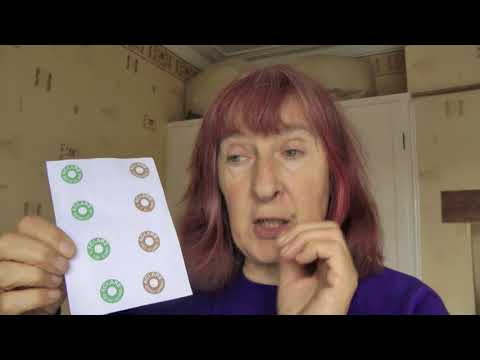Julia's Eyesight Adventure 7: Portuguese binocular practice chart