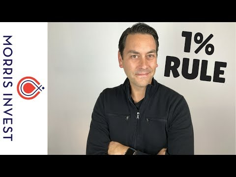 Morris Invest: What is the 1% Rule for Real Estate Investing?