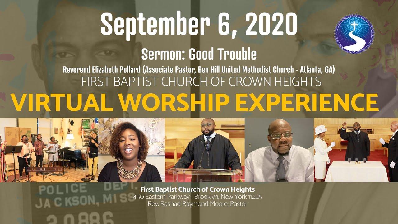 September 6, 2020: Sunday Morning Virtual Worship Service