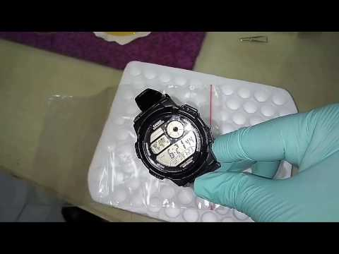 Casio AE - 1000W (water resistant & freeze/ice test)