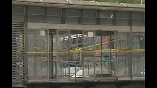 Así está la estación que vandalizó Epa Colombia y esto valió repararla