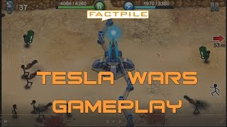 Tesla Wars Game Play - iOS Version
