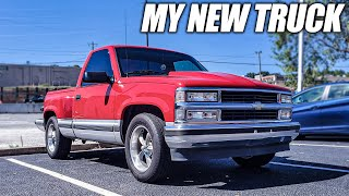 I Bought an OBS Chevy Truck,  And I ABSOLUTELY LOVE IT