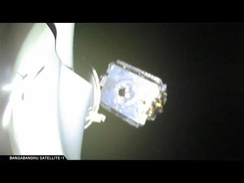 Bangabandhu Satellite-1 deployment
