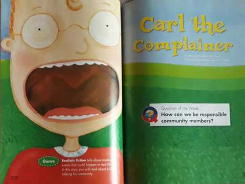 Carl the Complainer - Grade 2 - Reading Street - The Stepping Stone Kids