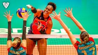 GREAT Finish by Brayelin Martinez! | OQT 2019 | Highlights Volleyball World