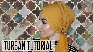 TURBAN TUTORIAL DOUBLE TWISTS | NABIILABEE