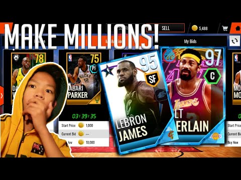 MAKE MILLIONS IN THIS FILTERS ON NBALIVE MOBILE 18!