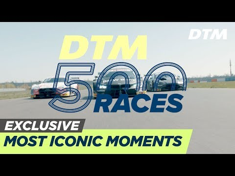 The Most Iconic Moments from 500 DTM Races - DTM Exclusive