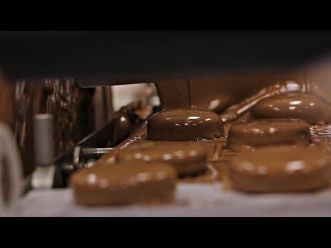 Paul Shows Us His Fancy Chocolate Enrobers!