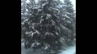 Evreux sous la neige