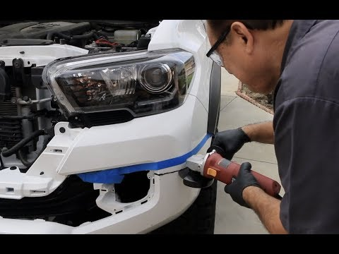 2017 Toyota Tacoma Pelfreybilt Front Bumper Install
