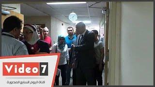 بالفيديو.. وصول وزير السياحة مستشفى دار الفؤاد للاطمئنان على مصابى حادث الواحات