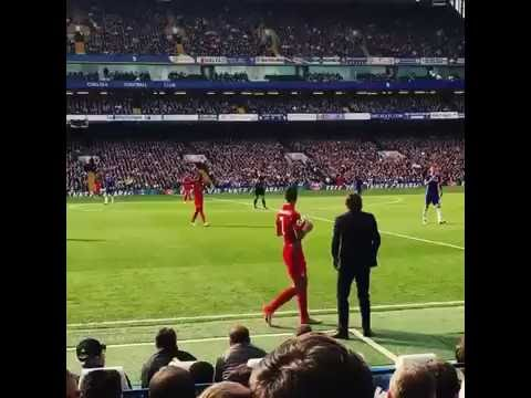 Brilliant touchline footage of Antonio Conte during Chelsea v Leicester
