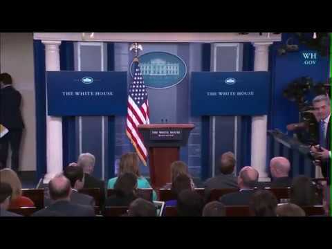 Spicer Leaves Briefing Without Answering Any Questions