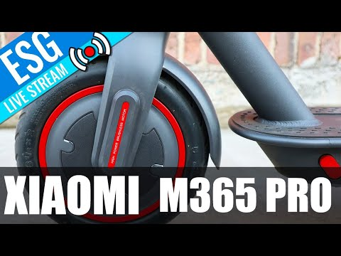 Scooter Chat Live #13 - Xiaomi M365 PRO