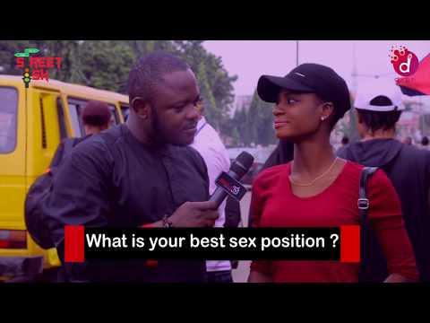 What Is Your best 'Love' Position? - DelarueTV | Street'ish