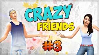 The Sims 4 Безумные друзья #3 Свиданка^^