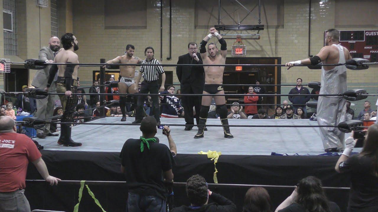 Anthony Gangone vs Mike Verna vs JT Dunn vs Teddy Hart