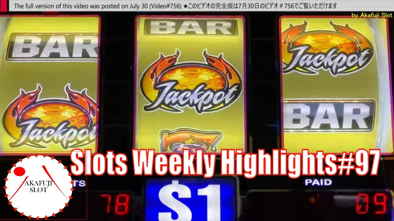 Slots Weekly Highlights#97 for You who are busy★High limit Lightning Cash Jackpot Tiki Fire Slot