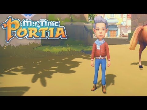 A Stranger in Town!! - My Time at Portia (Alpha 6.0) – Part 170