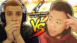 TheKoreanSavage vs. Swagg! NUKING TRASH TALKERS in WW2! Best COD WW2 PLAYERS! (INSANE KILL RACE)