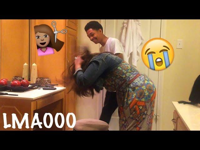 HAIRCUT PRANK ON MOM! (WIG)