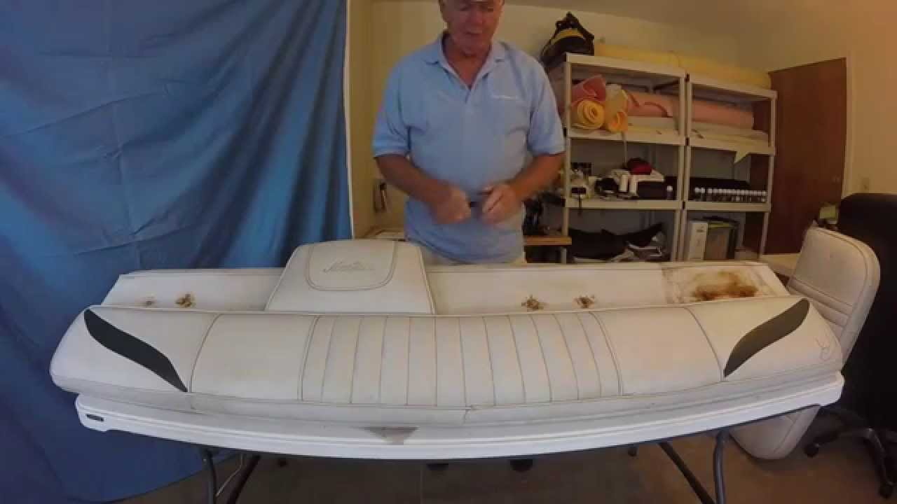 Boat Upholstery Chap 8 Mariah Seat And Sundeck Backrest
