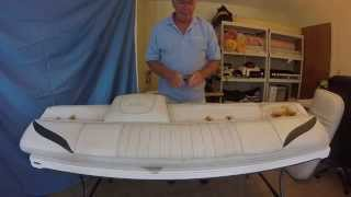 Boat Upholstery Chap 8 Mariah Seat And Sundeck Backrest Rebuild